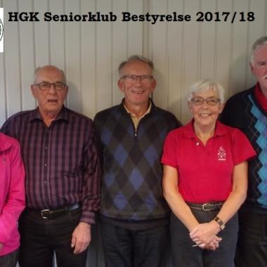 HGK Seniorklub Bestyrelse 2017/18